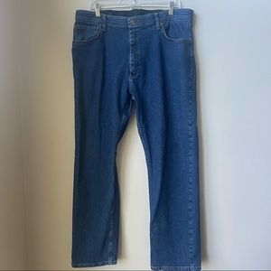 Wrangler Regular Fit Dark Wash Jeans